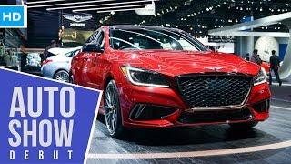 Download 2018 Hyundai Genesis G80 3.3T Sport Detailed Images Video