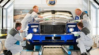 Download Rolls Royce Production How cars for billionaires are made! Video