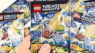 Download LEGO Nexo Knights Blind Bags Opening! 30 Nexo Powers! Video