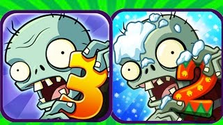 Download Plants Vs Zombies 2 vs Plants Vs Zombies 3(Fan Made) Video