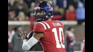 Download Ole Miss QB Jordan Ta'amu Official Highlights (HD) Video