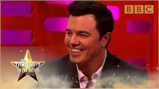 Download Seth MacFarlane performs his Family Guy voices - The Graham Norton Show: Series 15 - BBC One Video
