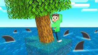 Download SKYBLOCK But WATER Rises EVERY 30 SECONDS! (Minecraft) Video