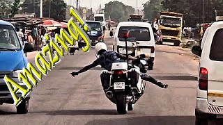 Download 🏍️ Amazing Police Escorts in West Africa Video