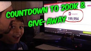 Download COUNTDOWN TO 200K !!! AND SPECIAL SHOUTOUTS Video