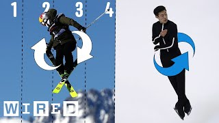 Download Why It's Almost Impossible to Do a Quintuple Jump | WIRED Video