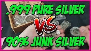 Download Junk Silver VS .999 Pure Silver   Which is the better investment? Video