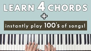 Download Learn 4 Chords & Instantly Be Able To Play Hundreds Of Songs! Video