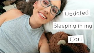 Download UPDATED NEW WAY I SLEEP IN MY CAR | Katie Carney Video