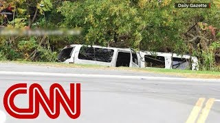 Download Limo that crashed and killed 20 failed its inspection Video