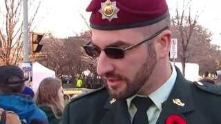 Download Remembrance Day 'sergeant' not in the military: DND Video