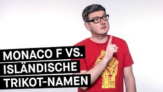 Download Fußball WM 2018 || Island vs. Bayern: Trikot-Namen-Battle || Monaco F Video