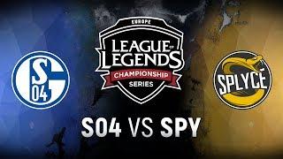 Download S04 vs. SPY - Week 9 Day 1 | EU LCS Summer Split | FC Schalke 04 vs. Splyce (2018) Video