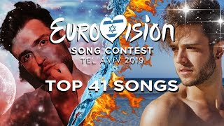 Download Eurovision 2019: Top 41 Songs (Pre-Show) Video