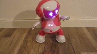 Download Dancing robot Tosy - Dancing, talking and singing - Disco Robo Robot Tosy Video