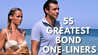 Download 55 Greatest James Bond One-Liners Video