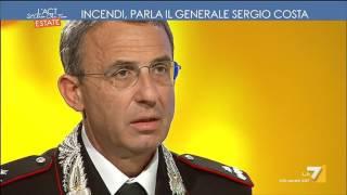 Download L'Italia brucia, l'identikit dei piromani. Parla il generale Sergio Costa Video
