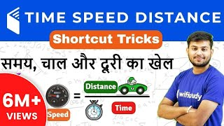 Download Time, Speed & Distance Maths Shortcut Tricks | समय गति और दूरी Video