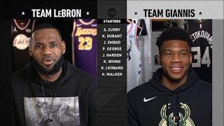 Download 2019 NBA All-Star Draft - Team LeBron vs Team Giannis   2019 NBA All-Star Weekend Video