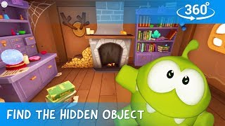 Download Find The Hidden Objects in 360 - Om Nom Stories: Mysterious House Video
