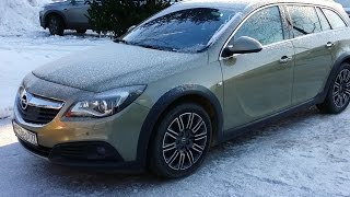 Download Opel Insignia 2015 Country Tourer interior overview Video