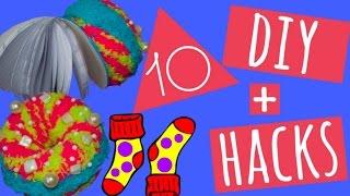 Download 10 CREATIVE SOCKS DIY + HACKS/NOTEBOOK/MUGCOZY/HAIRTIE/GAITER/HAIRBUN & MORE Video