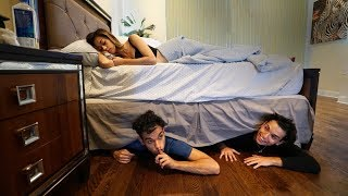 Download We spent the night under my Girlfriends bed.. She had no idea.. Video