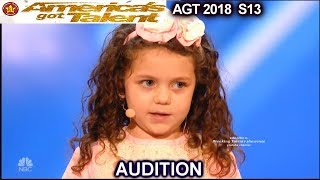 """Download Sophie Fatu 5 years old Sings """"My Way"""" Simon Wants Her To Date His Son America's Got Talent 2018 Video"""