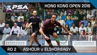 Download Squash: Hong Kong Open 2016 - Ashour v Mar. ElShorbagy - Rd 2 Highlights Video