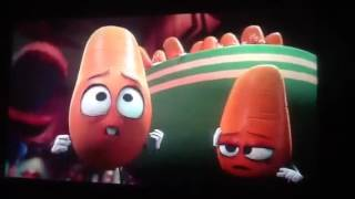 Download Sausage party cooking scene Video