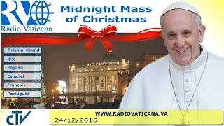 Download Midnight Mass of Christmas 2015.12.24 Video