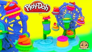 Download Playdoh Rainbow Cupcakes Maker Cupcake Celebration Ferris Wheel Playset - Cookieswirlc Video Video