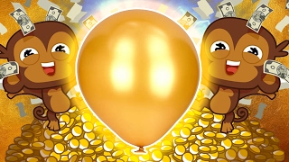 Download MEGA GOLDEN BLOON CHALLENGE - BLOONS TOWER DEFENSE 5 Video