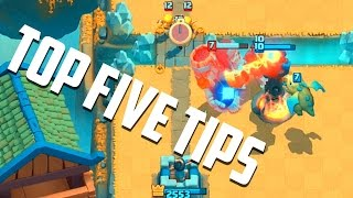 Download Clash Royale - Top 5 BEST Tips for Winning! Video