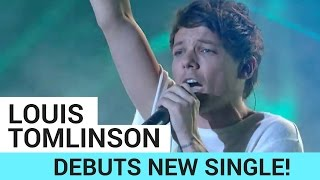 Download Louis Tomlinson Debuts New Single + One Direction Reunion (X-Factor Performance) Video