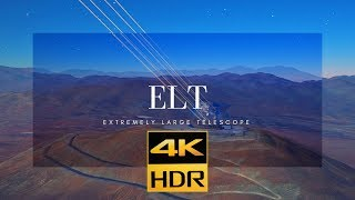 Download EXTREMELY LARGE TELESCOPE | 4KHDR Dolby Vision 12 bit #Shortfilm Video