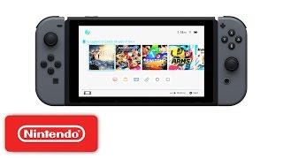 Download Nintendo Switch - HOME Menu Video