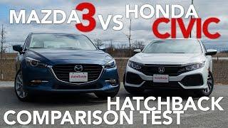 Download 2017 Mazda3 Hatchback vs 2017 Honda Civic Hatchback Video