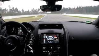 Download Fantanstic Jaguar F-Type SVR - Hockenheimring 2 fast laps Video