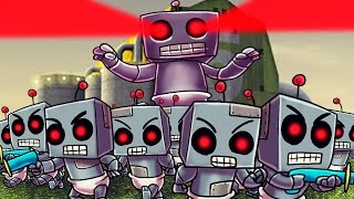 Download Minecraft | Who's Your Daddy? Baby Robot Army Invades the House! (GIANT ROBOT BABY) Video