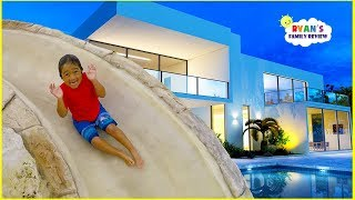 Download Ryan's New House and New Swimming Pool Tour!!! Video
