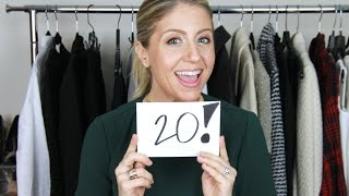 Download Top 20 Things You Need in Your Closet | Winter 2015 Video