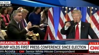 Download ″NO! I WILL NOT GIVE YOU A QUESTION! YOU ARE FAKE NEWS!″ DONALD TRUMP TO CNN REPORTER AT PRESS CONF Video
