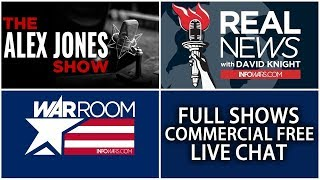 Download LIVE 📢 Alex Jones Infowars Stream With Today's Shows Commercial Free • Tuesday 7/17/18 Video