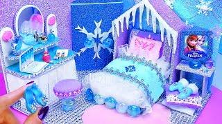 Download DIY Miniature Frozen Bedroom and Shoes for Disney Elsa Video