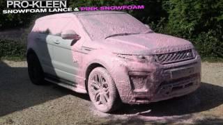 Download PROKLEEN SNOW FOAM LANCE and PROKLEEN PINK SNOW FOAM Video