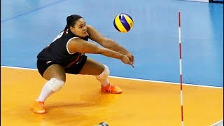 Download Suelen Pinto - Crazy Volleyball Libero (HD) Video