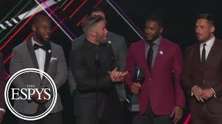 Download Julian Edelman Takes Dig At Peyton Manning During Patriots' Best Game Speech   The ESPYS   ESPN Video