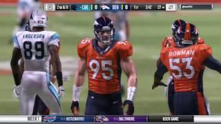 Download DiddyMarley's Panthers v Gdoom2012's Broncos - Madden War Video