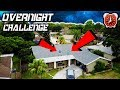 Download 24 HOUR OVERNIGHT CHALLENGE ON THE ROOF...INSANE STUNT Video